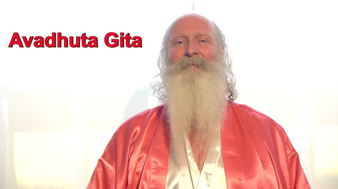 ⁣Avadhuta Gita Enlightenment Ch 8 Meditation read by Swami Satchidanand OM Angel Kundalini Blessings