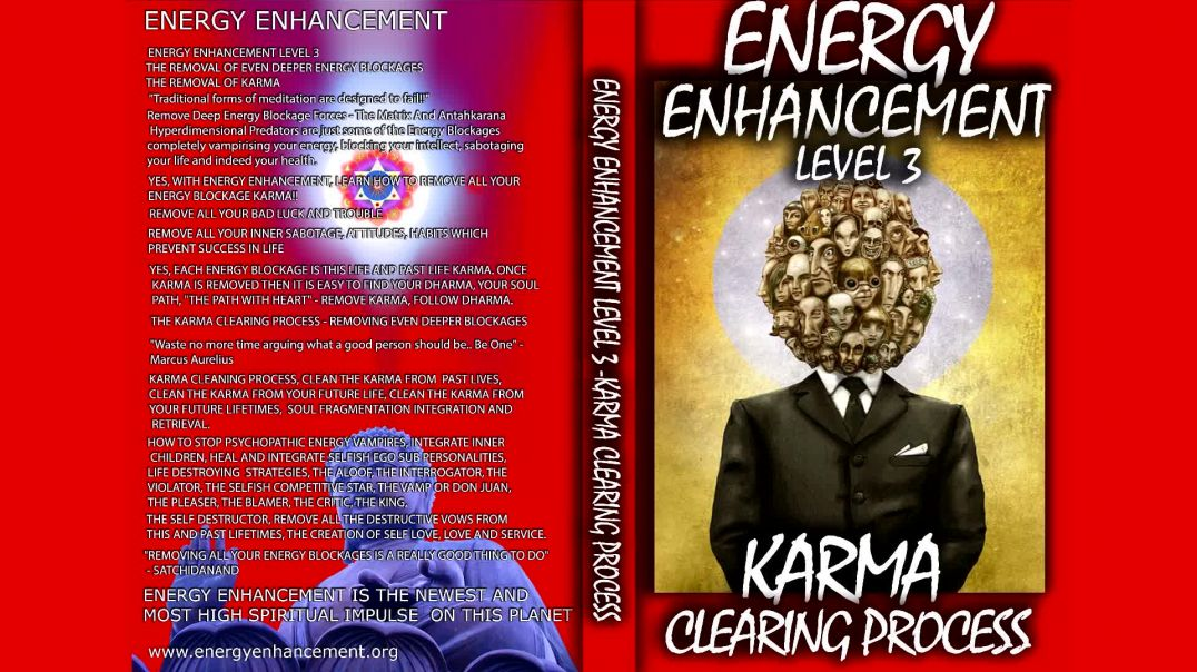 ⁣Energy Enhancement Meditation Level 3 - Karma Clearing Process