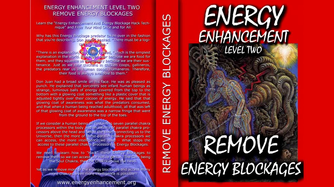 ⁣Energy Enhancement Meditation Level 2 - Remove Energy Blockages Book
