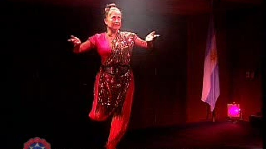 Indian Dance At The Ariston With Swami Devi Dhyani
