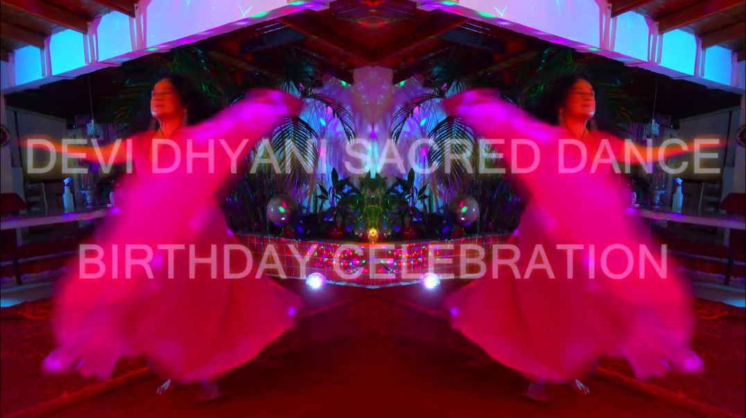 Swami Devi Dhyani Sacred Dance 72nd Birthday Celebration 2021